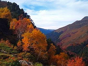 autumn walking holidays pyrenees mountain retreat person centered counseling and focusing